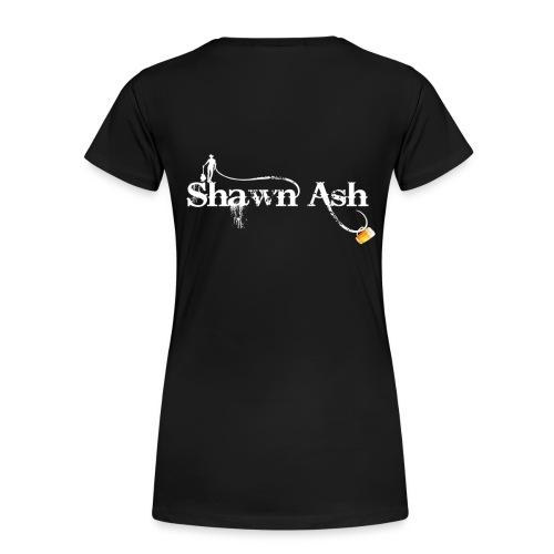 Shawn Ash No Background Logo - Women's Premium T-Shirt