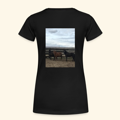 Support the Flintstone Family - Women's Premium T-Shirt