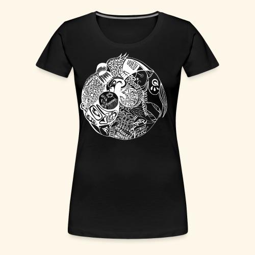 Harmonious World - Women's Premium T-Shirt
