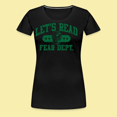 Athletic Green - Inverted for Dark Shirts - Women's Premium T-Shirt