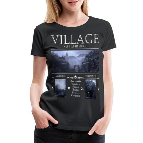 Los Iluminados Village 2 - Women's Premium T-Shirt