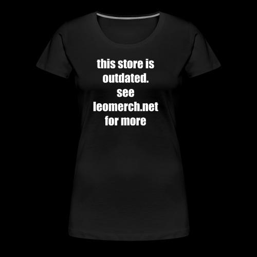 See leomerch.net - Women's Premium T-Shirt