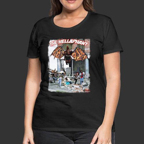The Hellaphant Alternate Concept: Re-Issue - Women's Premium T-Shirt