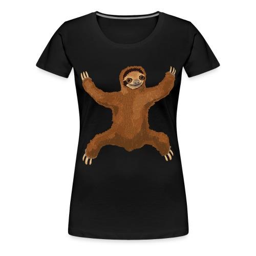 Sloth Love Hug - Women's Premium T-Shirt