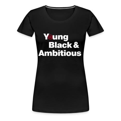 YBA Black Shirt2 - Women's Premium T-Shirt