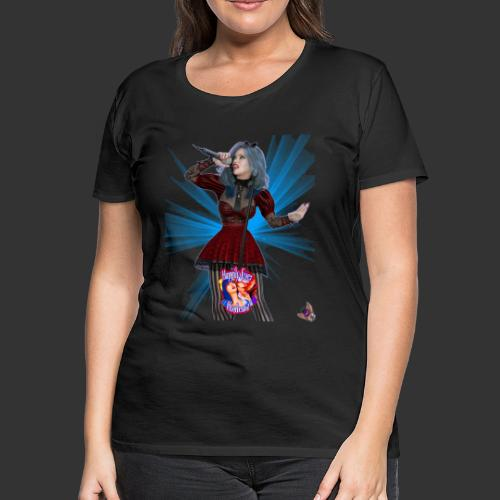 Happily Ever Undead: Alicia Abyss Singer - Women's Premium T-Shirt