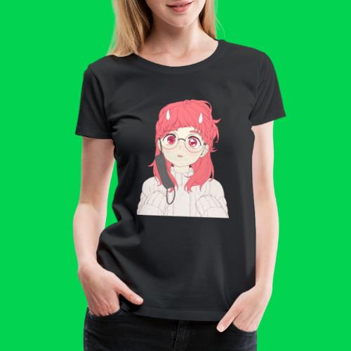 Mei is cute - Women's Premium T-Shirt