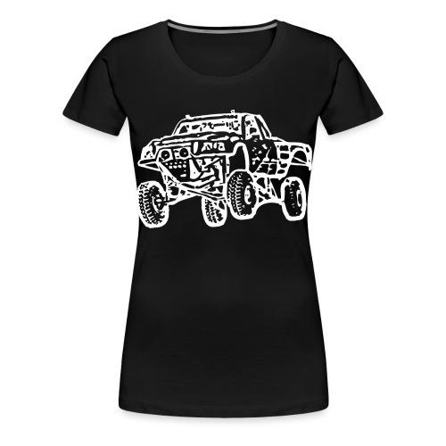 Jump Truck White - Women's Premium T-Shirt