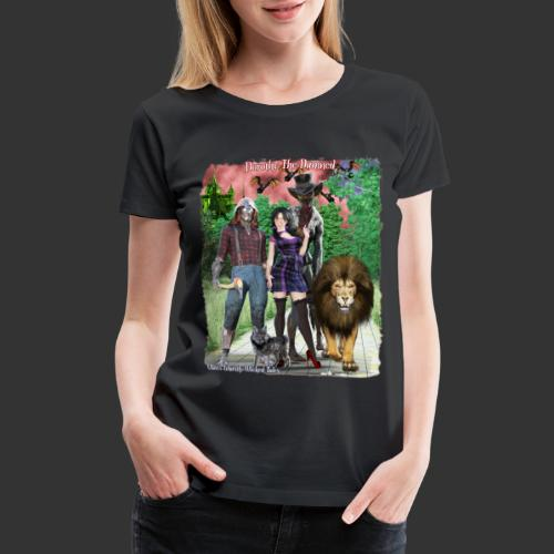 Ghastly Wicked Tales Vampire Dorothy The Damned - Women's Premium T-Shirt