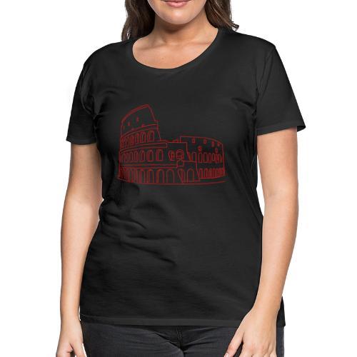 Colosseum in Rome - Women's Premium T-Shirt