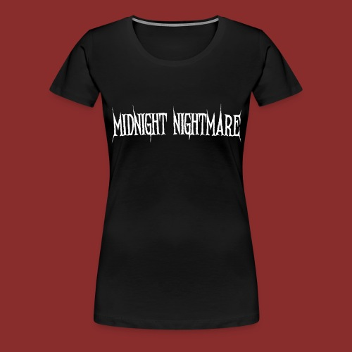 Midnight Nightmare Logo-w - Women's Premium T-Shirt