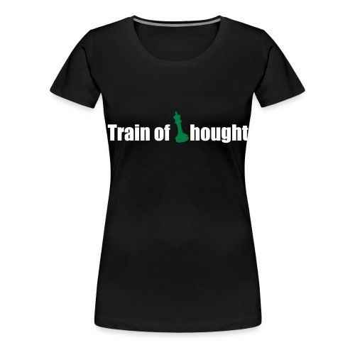 Train of Thought - Women's Premium T-Shirt
