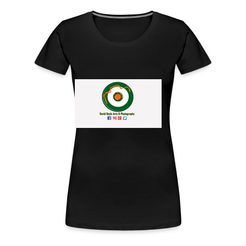 David Doyle Arts & Photography Logo - Women's Premium T-Shirt