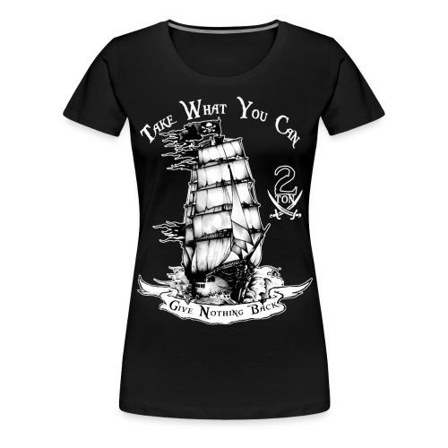2ton Pyrates - Women's Premium T-Shirt