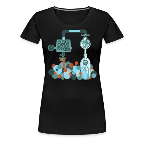 water shirt 1 png - Women's Premium T-Shirt