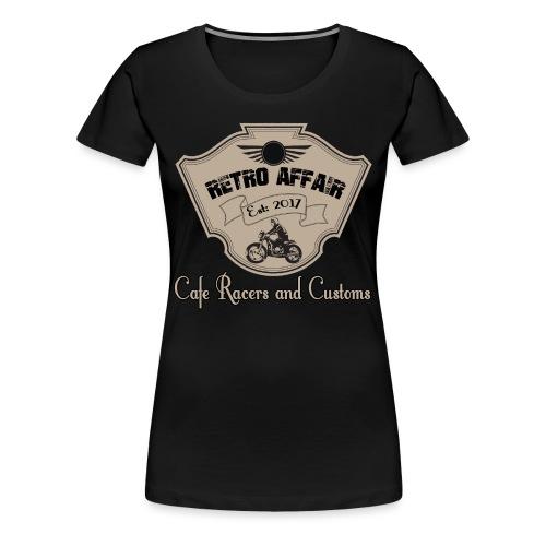 Retro Badge - Women's Premium T-Shirt
