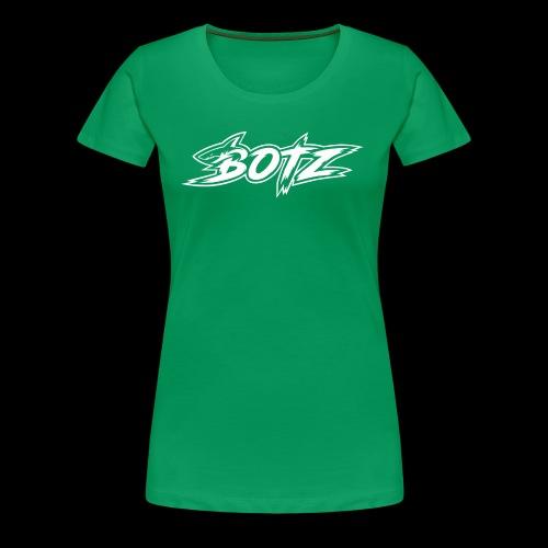 BOTZ White Logo - Women's Premium T-Shirt