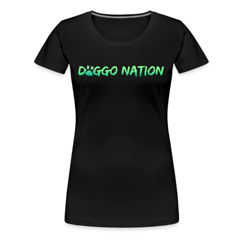 DoggoNation Logo - Women's Premium T-Shirt