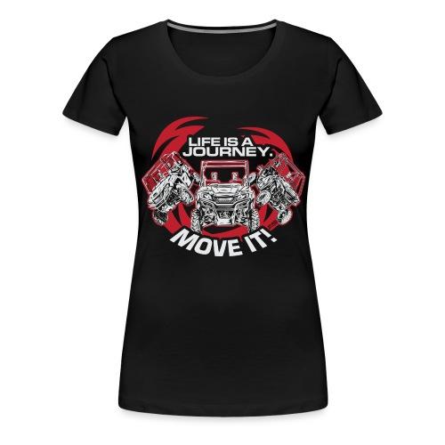 UTV Racing Life Journey - Women's Premium T-Shirt
