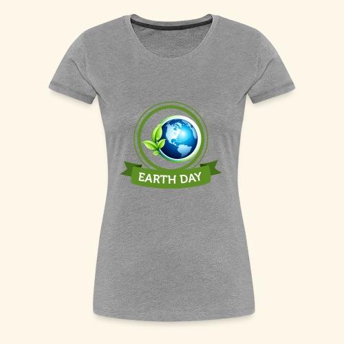 Happy Earth day - 3 - Women's Premium T-Shirt