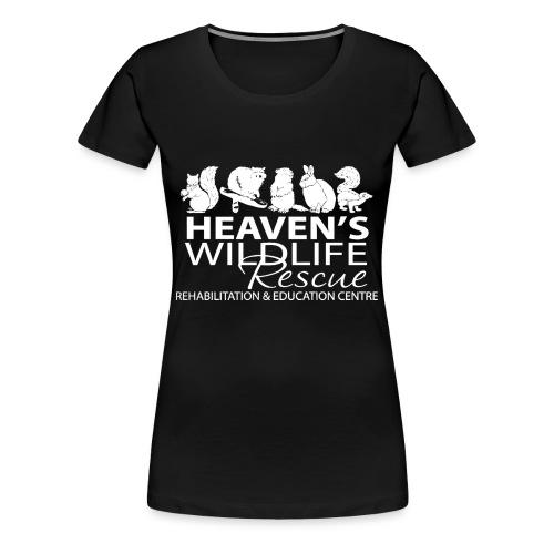 HWR White - Women's Premium T-Shirt