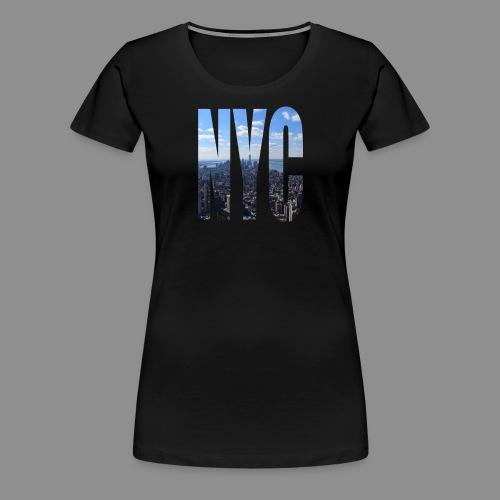 NYC V2 - Women's Premium T-Shirt