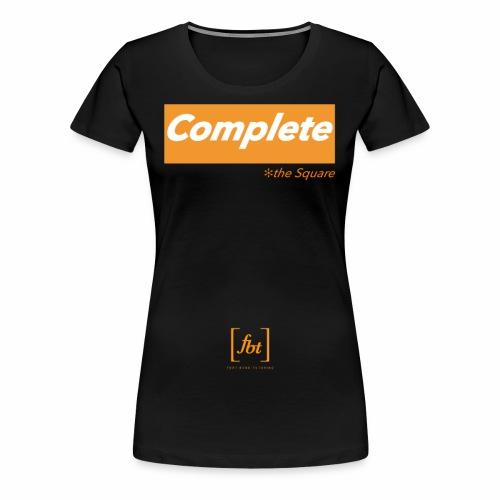 Complete the Square [fbt] - Women's Premium T-Shirt