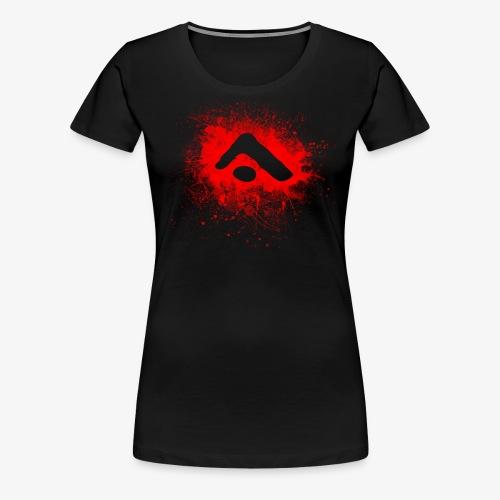 Alterian Splatter Logo - Women's Premium T-Shirt