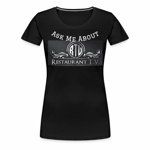 Restaurant T.V. - Women's Premium T-Shirt