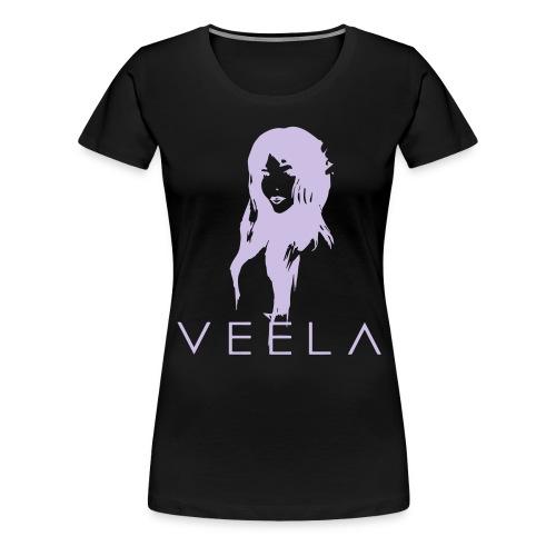Veela Women's Scoop Lavender Ink - Women's Premium T-Shirt