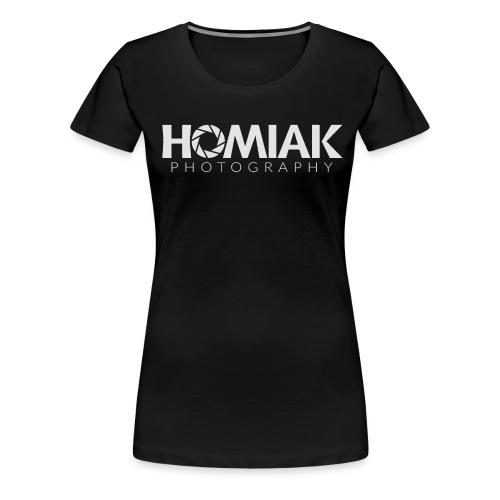 HP_LOGO_2016 (WHITE) - Women's Premium T-Shirt