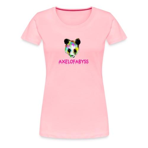 Axelofabyss panda panda paint - Women's Premium T-Shirt