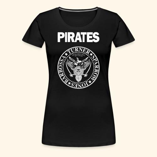 Punk Rock Pirates [heroes] - Women's Premium T-Shirt