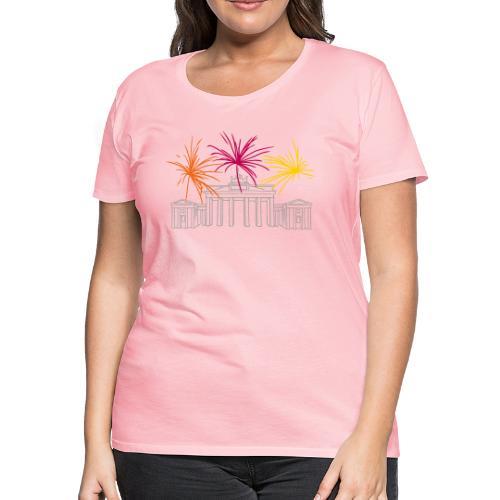 Newyearseve at Brandenburg Gate Berlin - Women's Premium T-Shirt