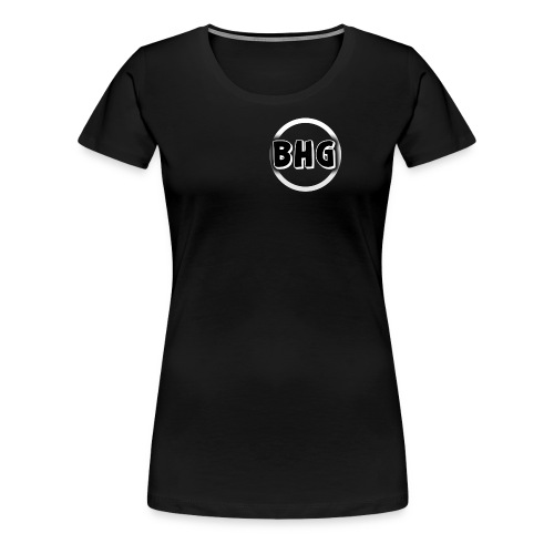 My YouTube logo with a transparent background - Women's Premium T-Shirt