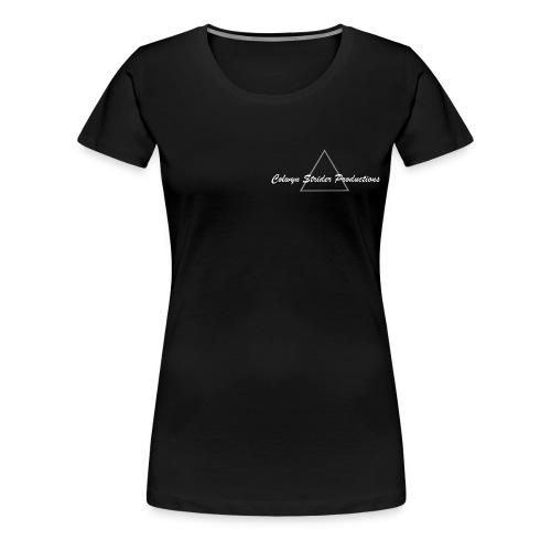 Colwyn Strider Productions White - Women's Premium T-Shirt