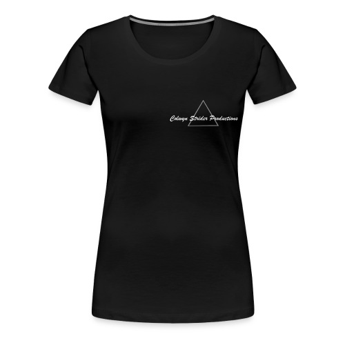 Colwyn Strider Productions White - Women's Premium T-Shirt