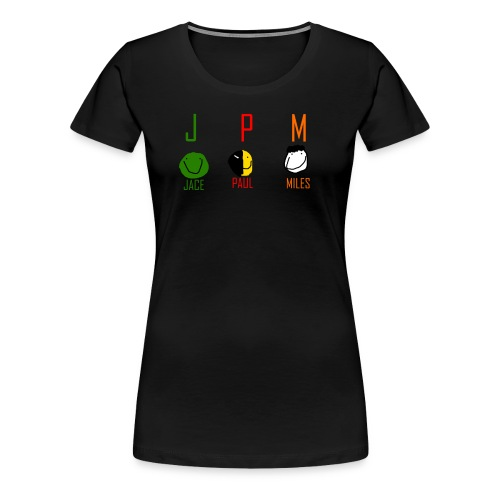 JPM merch logo 1 - Women's Premium T-Shirt