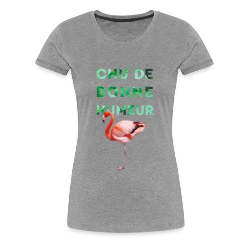 Pl_tshirt_typo flamand_40 - Women's Premium T-Shirt