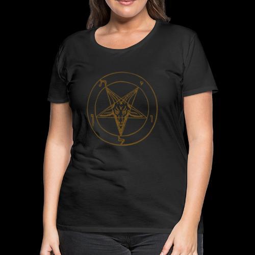 Bessy Baphomet - Women's Premium T-Shirt
