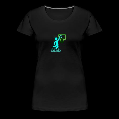 blab - Women's Premium T-Shirt