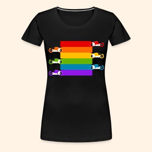 Pride on the Game Grid - Women's Premium T-Shirt
