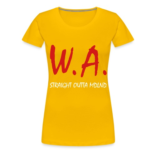 Straight Outta MDLND - Women's Premium T-Shirt