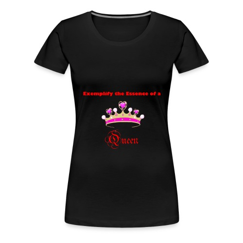 Exemplify the Essence Women's Tee - Women's Premium T-Shirt