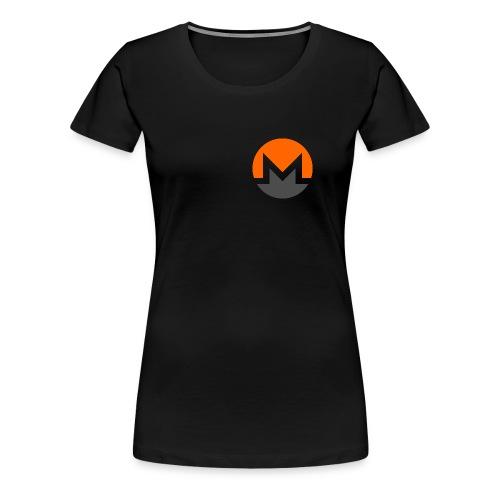 Monero crypto currency - Women's Premium T-Shirt
