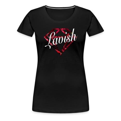 Lavish Logo - Women's Premium T-Shirt