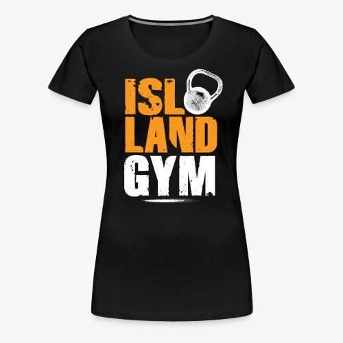 6be69115f4992 Island Gym 2 color IG - Women s Premium T-Shirt