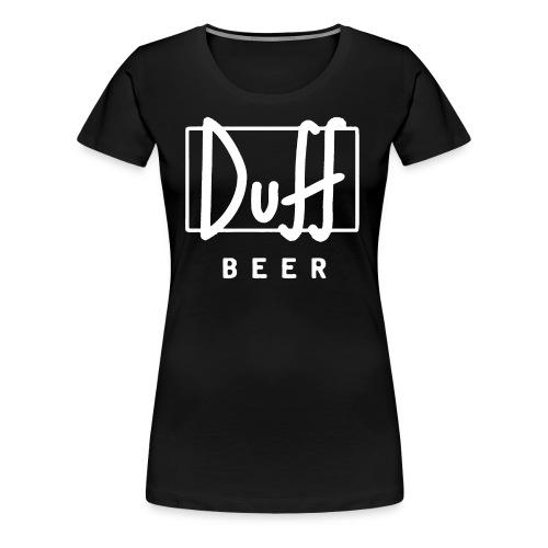 Duff - Women's Premium T-Shirt