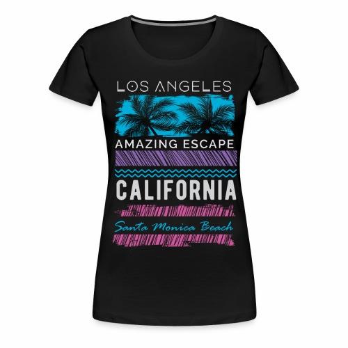 santa monica - Women's Premium T-Shirt