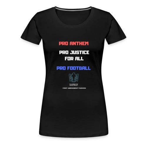 Pro Football Tee and Hoodie - Women's Premium T-Shirt